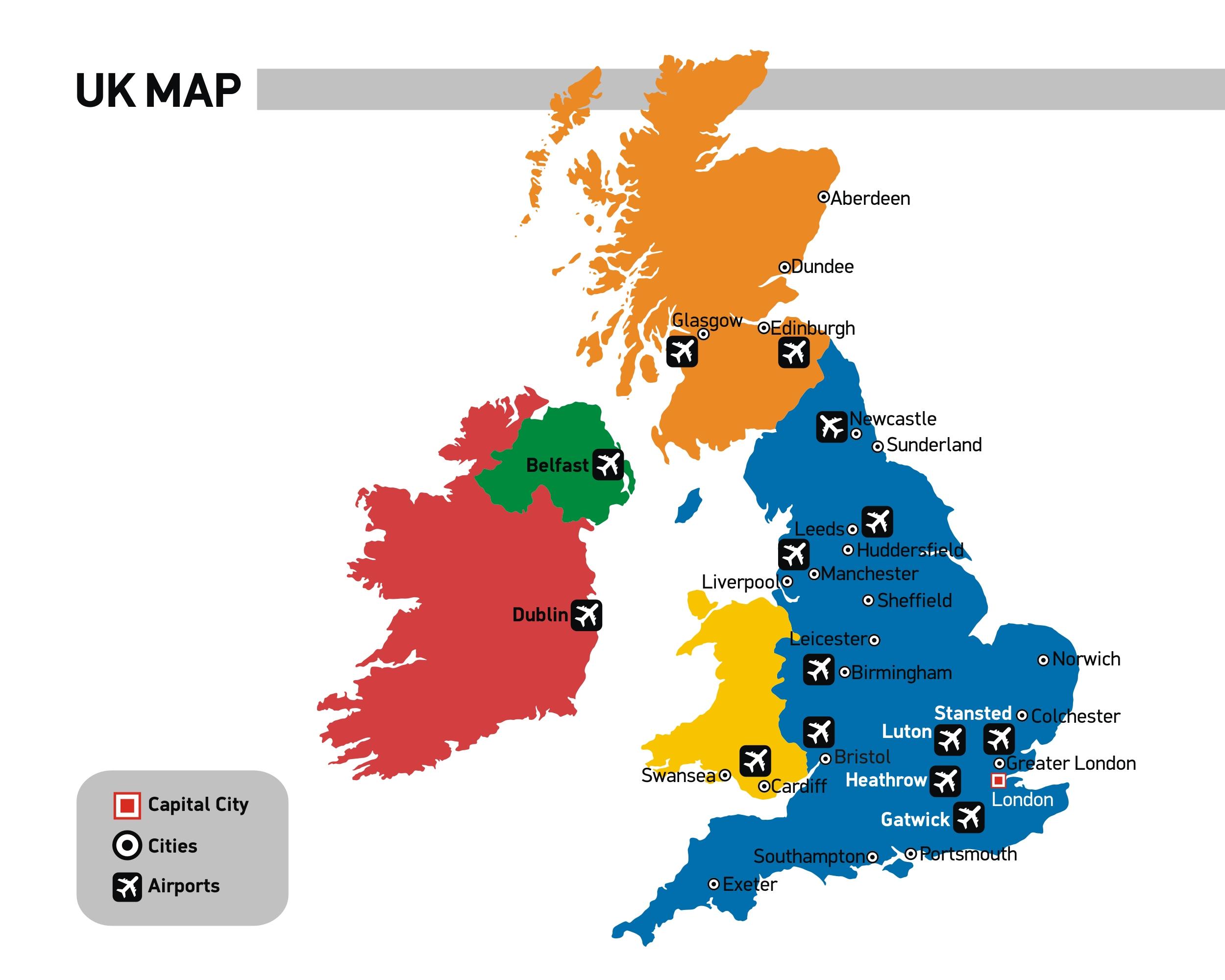 Uk University Map UK Universities | British Universities | Study in UK | Unilink Uk University Map